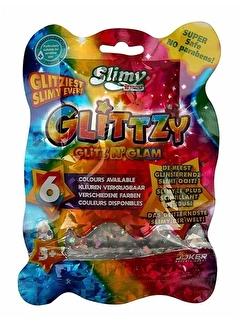 Slimy Slimy Glitzy Slime 90 gr Yeşil